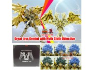 Great Toys Soul of Gold God EX Gemini Saga  with Myth Cloth Totem figure in stock