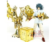 Great Toys Soul of Gold God EX Gemini Saga  with Myth Cloth Totem + plain cloth pandora box Expansion